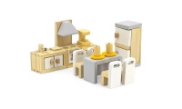 Viga - Doll House Kitchen & Dining Room Playset Photo