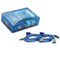 JB LUXX 2-Port KVM Switch Photo