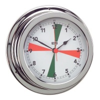 ANVI 32.0505 Radio Silence Clock – Polished Brass & Chromed Photo