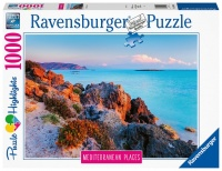1000 Piece Puzzles-Mediterranean Greece Photo