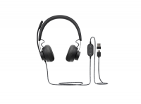Lenovo 100 USB Wired Headset - Head-band Style Photo