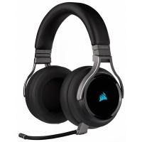 Corsair VIRTUOSO RGB WIRELESS High-Fidelity Gaming Headset — Carbon Photo