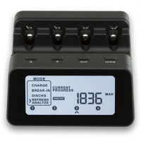 Powerex MH-C9000PRO 4-Cell Professional Charger-Analyzer Photo