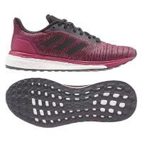 adidas Women's Sloar Drive Running Shoes - Burgandy Photo