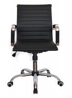 The Office Chair Corp TOCC Generic Black Medium Back Office Chair - Set of 2 per Box Photo