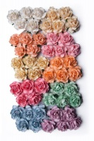 Bloom Cottage Roses - Pastel 3cm Photo