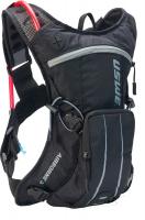 USWE Airborne 3L Black/Grey Hydration Backpack 2L Hydration Bladder MTB Photo