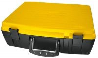 Bantex Casey Classic DIY 42cm Case with Dividers Yellow and Black Photo