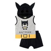 Bub2be's Batman Romper Set Photo