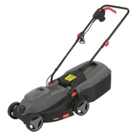 Powerplus 1000w Electric Lawnmower with 30L Collection Box Photo