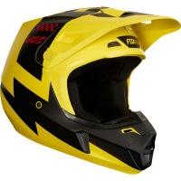 Fox Racing Fox V2 Mastar Yellow Helmet Photo