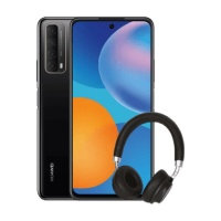 Huawei P Smart 2021 128GB SS Midnight Black Bundle Cellphone Photo