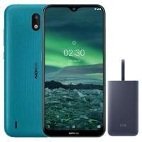 Nokia 2.3 Cyan Green 32GB Samsung Powerbank Cellphone Cellphone Photo