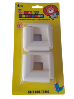 White Baby Proofing Edge and Corner Guard Protector Set Photo