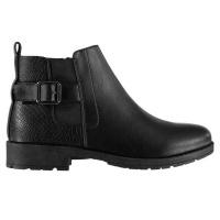 Miso Girls Katy Chelsea Boots - Black [Parallel Import] Photo