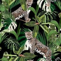 SoGood Candy Medium Zip Purse Jungle Leopard PU Photo