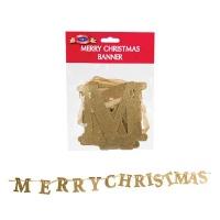 Bulk Pack x 2 Xmas Sundry Banner Merry Christmas Photo