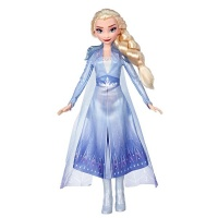 Frozen Elsa Fashion Doll With Long Blonde Hair & Blue Outfit 60833 Photo