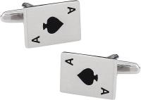 Ace of Spades Cufflinks Set Photo