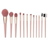 Dream Doll Cosmetics 12 Piece Makeup Brush Set Pink Photo