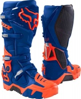 Fox Racing Fox Instinct OffRoad Blue Boots Photo