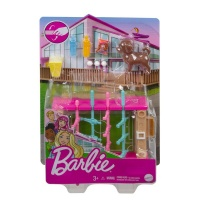 Barbie Mini Game Night Theme Playset with Pet and Accessories Photo