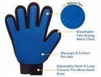 Bobo Touch - Five Finger Grooming & Deshedding Glove for Dogs & Cats Photo