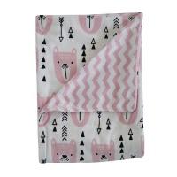 Snuggletime Mink Blanket - Pink Photo