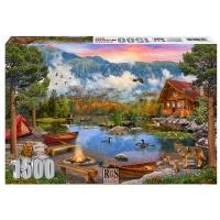RGS Group Mountain Lake 1500 Piece Jigsaw Puzzle Photo