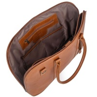 Mally Leather Bags Mally Bags Ladies Laptop Bag in Toffee Photo