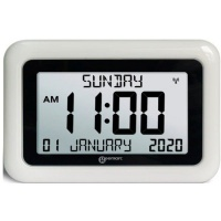 Geemarc Visio Large Digital Wall Clock with Day and Date Photo