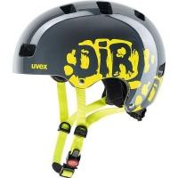Uvex Kid 3 Dirtbike Grey-Lime Kids Cycling Helmet 51-55 cm Small Photo