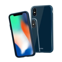 SBS Vitro Case for iPhone XS/X in blue Photo