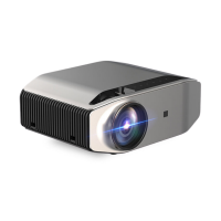 YG620 LED Projector Full HD Projector Built-in Speaker Home Theater Beamer Photo