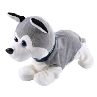 Electronic Interactive Sound Control Robot Toy Dog Photo