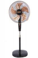 "Conic 18"" 3-Speed Oscillating Standing Pedestal Fan - Black Photo"