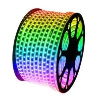 100M RGB LED Strip Light 10mm 220V IP67 60 LEDs/ meter 5050 SMD LED Photo