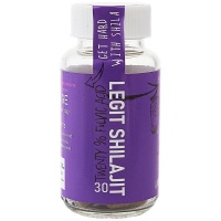 Hard City Elite Legit Shilajit 20% Fulvic Acid - 30 Caps - Super Tonic Photo