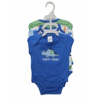 "Boys 3 Piece Bodys Pack - ""Happy Surus"" Photo"