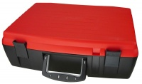 Bantex Casey Classic DIY 42cm Case with Dividers Red and Black Photo