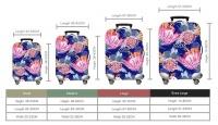 Iconix Proudly Protea Range Luggage Protector | Power Blue - Large Photo
