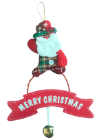 Christmas Tree Bell and Note Decoration Photo