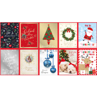 10 Pack Christmas Cards - Afrikaans Photo