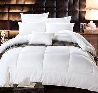 SuperKing White Comforter Duvet Insert- 350GSM Down Alternative Quilted Photo