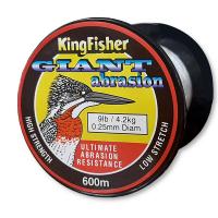 Kingfisher Giant Abrasion Nylon .25MM 4.2KG/9LB Colour Clear 600m Spool Photo