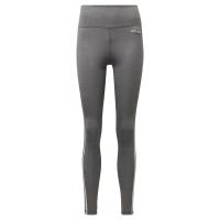 adidas - Women's W Designed2Move 3-Stripe Heather Tights - Grey Photo