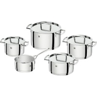 ZWILLING - Passion - 9 Piece 18/10 Polished Stainless Steel Cookware Set Photo