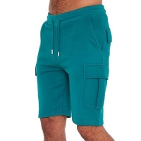 I Saw it First - Mens Teal Handley Juice Combat Shorts Photo