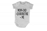 Quarantine = ME - Short Sleeve - Baby Grow Photo