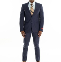 Men's Barton 2 Piece Suit - Invogue - Navy Photo